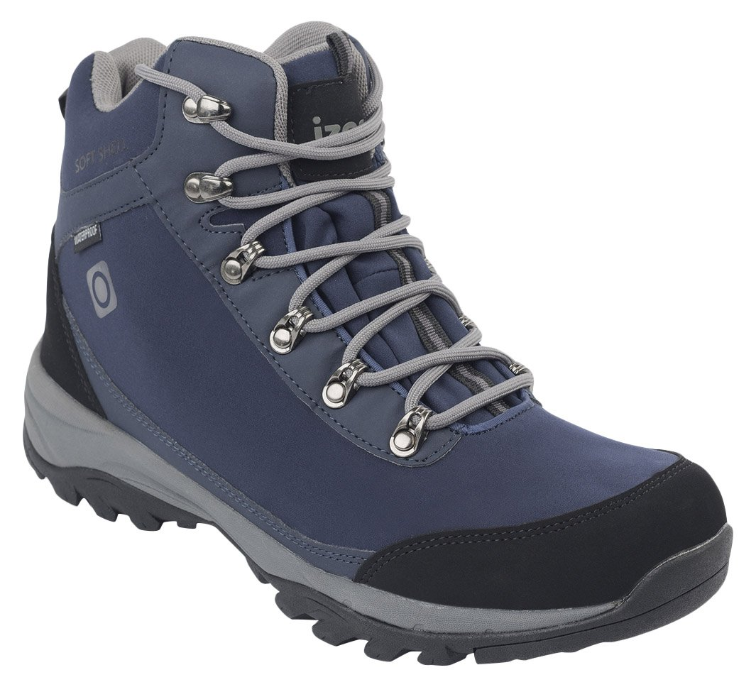 IZAS Men Gouter Outdoor Hiking Boot - Bluemoon/Silver, One Size 1
