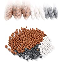 Vicloon Boules Minérales, Pommeau Douche Anti Calcaire Remplacement 9 Pack, Minérale Balles à Douche,Ions Négatifs…