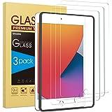 SPARIN (3 pezzi) Pellicola Protettiva Compatibile con iPad 10.2 (8/7 generazione), Vetro Temperato con Telaio di montaggio
