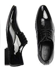 Digitrendzz Men's Patent Leather Formal Shoes for Men's Formal Shoes