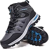 Mens Womens Walking Boots Lightweight Trekking Shoes Breathable High Rise Outdoor Hiking Boots Mountain Shoes