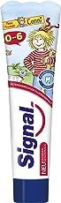 Signal Zahnpasta 0-6 Jahre mit Erdbeergeschmack, 6er Pack(6 x 50 ml)