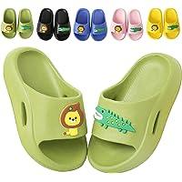 Boys Girls Summer Slippers Toddler Kids Slide Sandals Cute Cartoon Bath Beach Slippers Flip Flops House Slippers for…