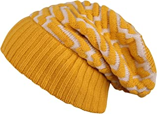 Noise NOICAPWNTR-W025 Polyester Maze Pattern Knitted Winter Cap, Adult X-Large (Multicolor)
