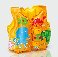 Intex Tropical Buddies Swim Vest, Multi Color