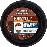 L'Oréal Paris Men Expert Crema Barber Club, Argilla Modellante Effetto Matt e Rimodellabile per un Look Disordinato, per…