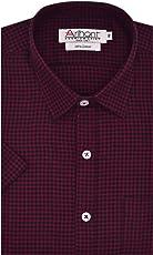 Arihant Men's Checkered Half Sleeves Regular Fit 100% Cotton Formal Shirts