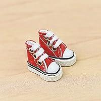 PIGMAMA Mini Chaussures à Doigts, Mini Baskets en Toile pour Enfants/Adultes - Finger Skateboard Finger Dance Games Mini…