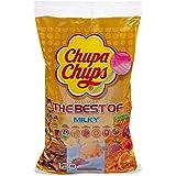 Chupa Chups Lecca Lecca The Best Of, Lollipop Assortiti Gusto Cola, Panna Fragola, Vaniglia, Lampone, Arancia, Fragola, Cilie