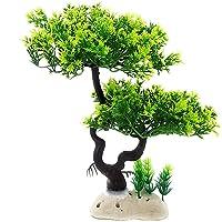 Aquarium Artificial Plastic Plant Fish Tank Ornament Tree Decoration