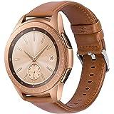 iBazal 20mm Horlogebandjes Quick Release Lederen Metalen Siliconen Polsbandjes Compatibel met Samsung Galaxy Horloge 42mm/Act