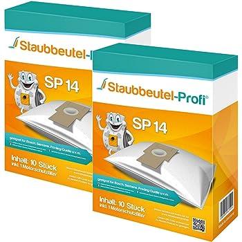10  Staubsaugerbeutel geeignet für Privileg Super Clean 60ACB01