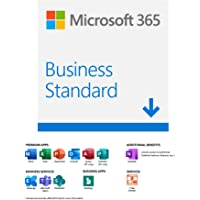 Microsoft 365 Business Standard |Email delivery in 1 hour| 12-Month Subscription, 1 person | Premium Office apps with…