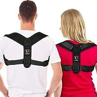 [Neuestes Modell] Schiara Haltungskorrektur für Damen und Herren - Bequeme Oberrücken-Bandage, verstellbare Rückenstütze…