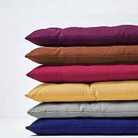 jHuanic Coussin de banc intérieur ou extérieur 100/120 cm, coussins pour banc de jardin 2 ou 3 places, coussin long pour…