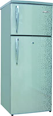 Nikai Double Door Defrost Refrigerator Silver -NRF200DN3M