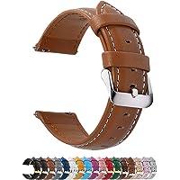 Fullmosa Cinturino 14mm Orologio, Axus Cinturini in Pelle, Compatible con WRISTOLOGY Charlotte Models, Pebble Time Round…