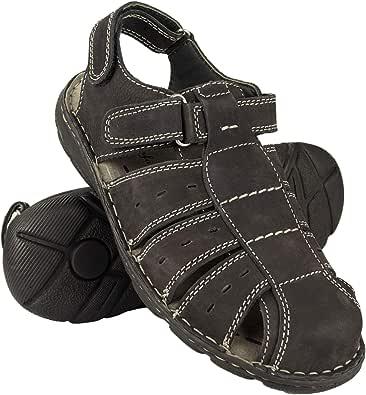 Zerimar Men's Sandals   Men's Trekking Sandals   Sandals Man Hiking   Men's Leather Sandals   Men Summer Sandals