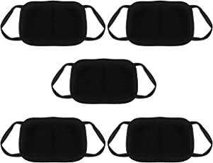 Blinkin 5 Pcs Dust/Anti Pollution Protective Face Mask Mouth & Nose Respirator Outdoor (Pack of 5 mask)