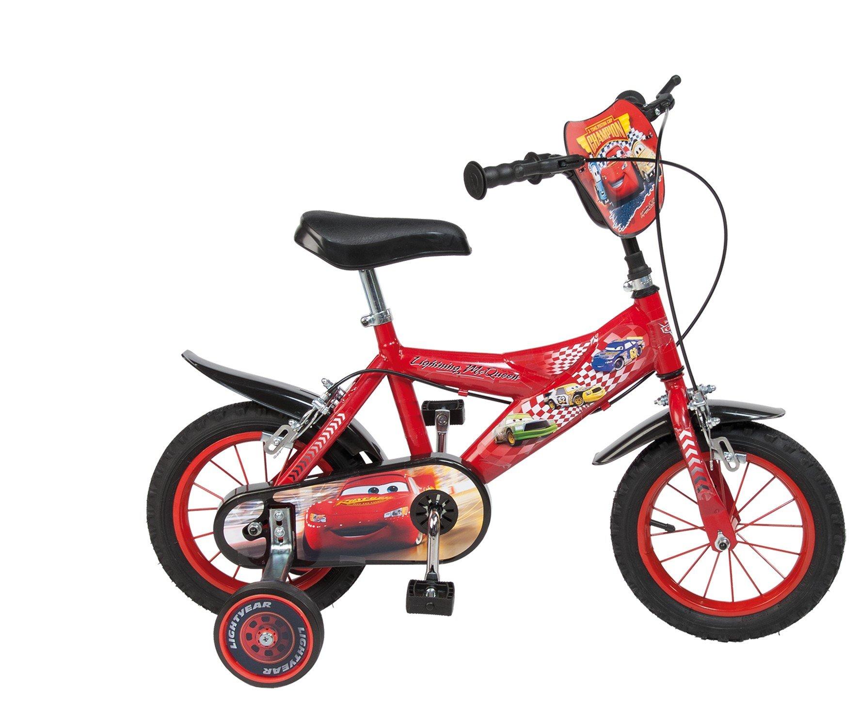 Toimsa - 732 - Bicicletta per bambini Cars 12, 3 - 5 anni
