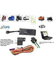 Jenix Real Time GPS Tracker with Free Server Tracking APP Inbuilt Battery for Car, Bus, Truck, Rickshaw, Scooty with Engine On and Off by Mobile APP and Website Anti Theft Alarm JXT-SER