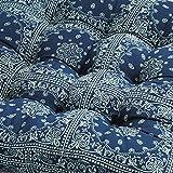 VDEGHSDGHFDDS Tatami stuhl dämpfung,Kissen Fluidsysteme Eingedickten stuhl sitzkissen Fat pad Rattan-kreisförmige futon-matte-S Durchmesser55cm(22inch)