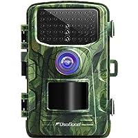 usogood Caméra de Chasse Infrarouge Invisible 16MP 1080P Vision Nocturne Détection Thermique 42 LED de 940nm Camera de…