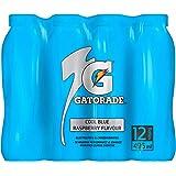 Gatorade Sports Drink, Cool Blue Raspberry, 495mlx12