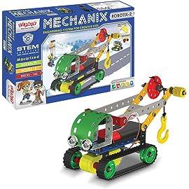 Zephyr Metal Metal Mechanix Robotix   2, Green, Multicolour