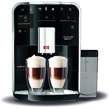 Melitta Barista TS SMART F85/0-102, Bean to Cup Coffee Machine, Bluetooth connectivity, Melitta Connect App, Whisper Grinder (Quiet Mark), Black