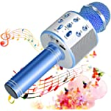 SunTop Microfono Karaoke Bluetooth Wireless, Portatile Microfono Karaoke Bambini con Altoparlante, KTV Karaoke Player…