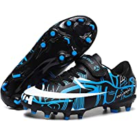 DIQUEQI Boys Girls Football Boots Cleats Soccer Shoes Professional Spikes Football Competition Shoes Training Sneakers…