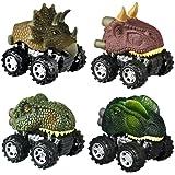 SOKY Dinosaurier ziehen Autos zurück - Geschenk&Spielzeug für Kinder
