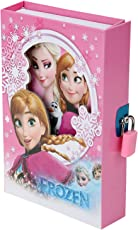 Asera Frozen Lock Diary for Girls Gifts Options- Pink Colour