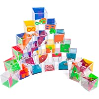 Goods & Gadgets Mini Puzzle Mega Set avec 24 jeux de balle Jeux d'adresse comme sac de fête