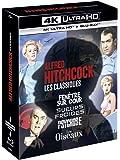 Alfred Hitchcock, Les Classiques-Coffret : Fenêtre sur Cour + Sueurs Froides + Psychose + Les Oiseaux [4K Ultra HD + Blu…