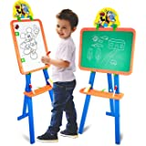 JATU STORE(1 pcs) 5 In1 Magnetic Writing Activity Board with Stand | White Board Black Board for Boys Girls | Board for Home,