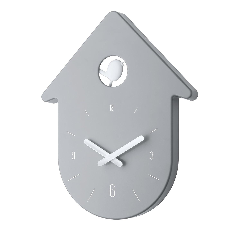 Koziol 2329100 toc toc horloge mural plastique blanc 2,7 x 24 x 30 ...