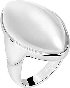 Morellato Anello da donna, Collezione Profonda, in acciaio, pietra Cat Eye - SALZ17014