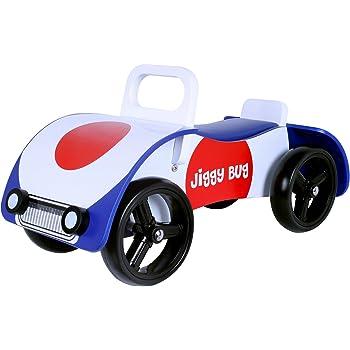 Indigo Jamm Kids Wooden Retro Scoot Ride on Scooter Racer Love Heart Fun Toy