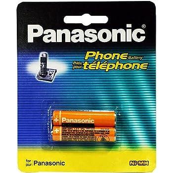 Panasonic 2 pack nimh aaa rechargeable battery for amazon panasonic original ni mh rechargeable battery fandeluxe Images