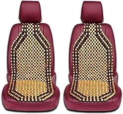 Zento Deals 2Stücke von Natur Holz Perlen Rücken Massage Kissen