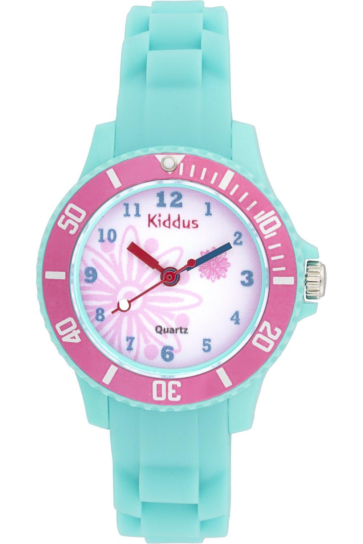 a0db9144b87c Montre fille pour enfants, caisse-cadeau, submersible à l eau (5ATM ...