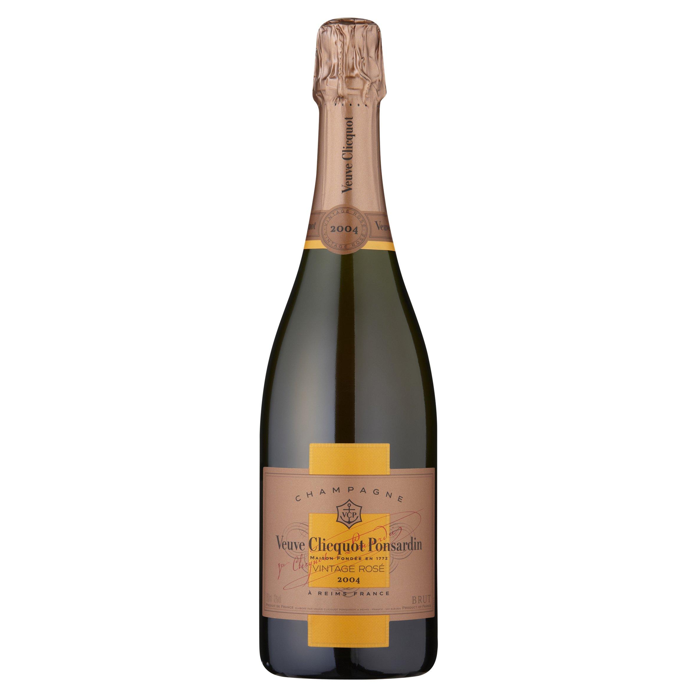 Veuve Clicquot Vintage Rose Champagne 2004, 75 cl