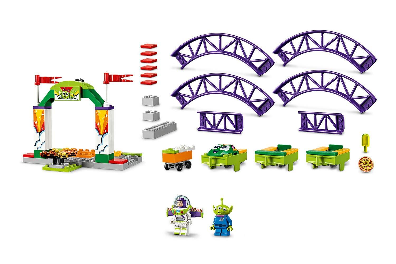 LEGO Juniors Ottovolante Carnevalesco, Gioco per Bambini, Multicolore, 262 x 191x 46 mm, 10771 5 spesavip