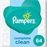 Pampers Complete Clean Baby Wipes, Piece of 64