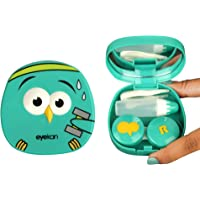 THE QUIRK BOX Angry Bird Travel Contact Lens Case Box - Green