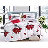 Comfortable Home 6piece King Size Bedding Sets, 1piece Quilt Cover=220x240cm,1piece Fitted Sheet=250x270cm, 2piece Pillow Cov