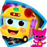 PINKFONG Car Town: ¡Canta, colorea y conduce!