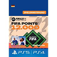 FIFA 22 Ultimate Team - 12000 FIFA Points | PS4/PS5 - Download Code - deutsches Konto